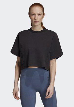 WANDERLUST T-SHIRT - Printtipaita - black