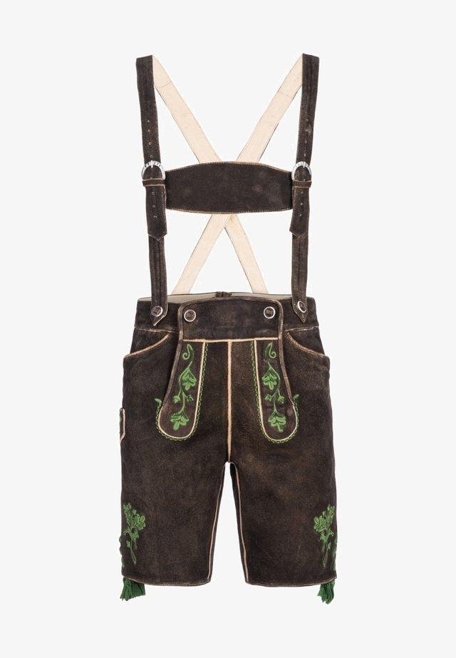 Shorts - dunkelbraun