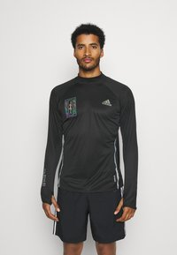 adidas Performance - REFLECTIVE - Sports shirt - black - 0