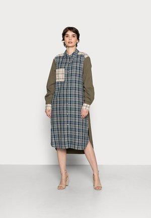 DALLAS CHECK SHIRTDRESS - Shirt dress - multi-coloured