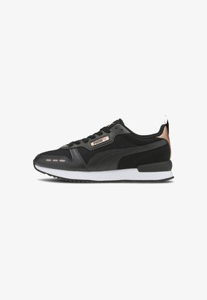 Sneakers - black- black-rose gold
