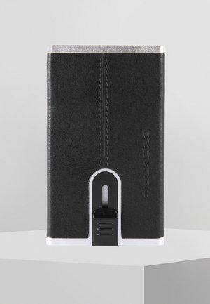 SQUARE - Business card holder - black