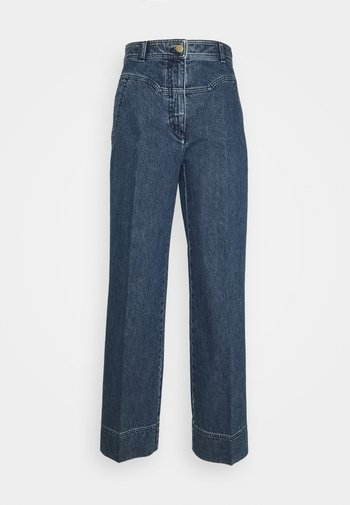 TROUSERS - Jeans baggy - blue