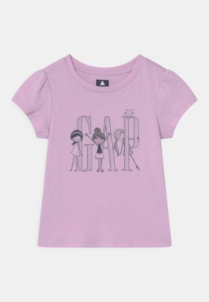 TODDLER GIRL LOGO - T-shirt con stampa - light pink