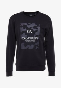 Calvin Klein Performance - BILLBOARD - Sweatshirt - black/bright white - 4
