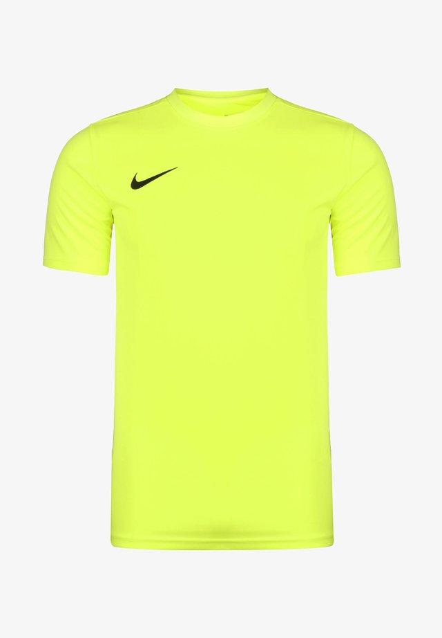 DRI-FIT PARK - T-shirt basic - volt / black