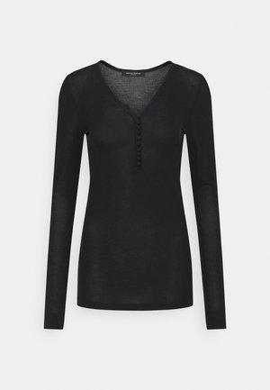 KATKA JUBI - Long sleeved top - black