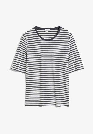 JILARAA  - Print T-shirt - indigo-oatmilk