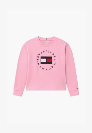 HERITAGE LOGO TEE  - Long sleeved top - pink