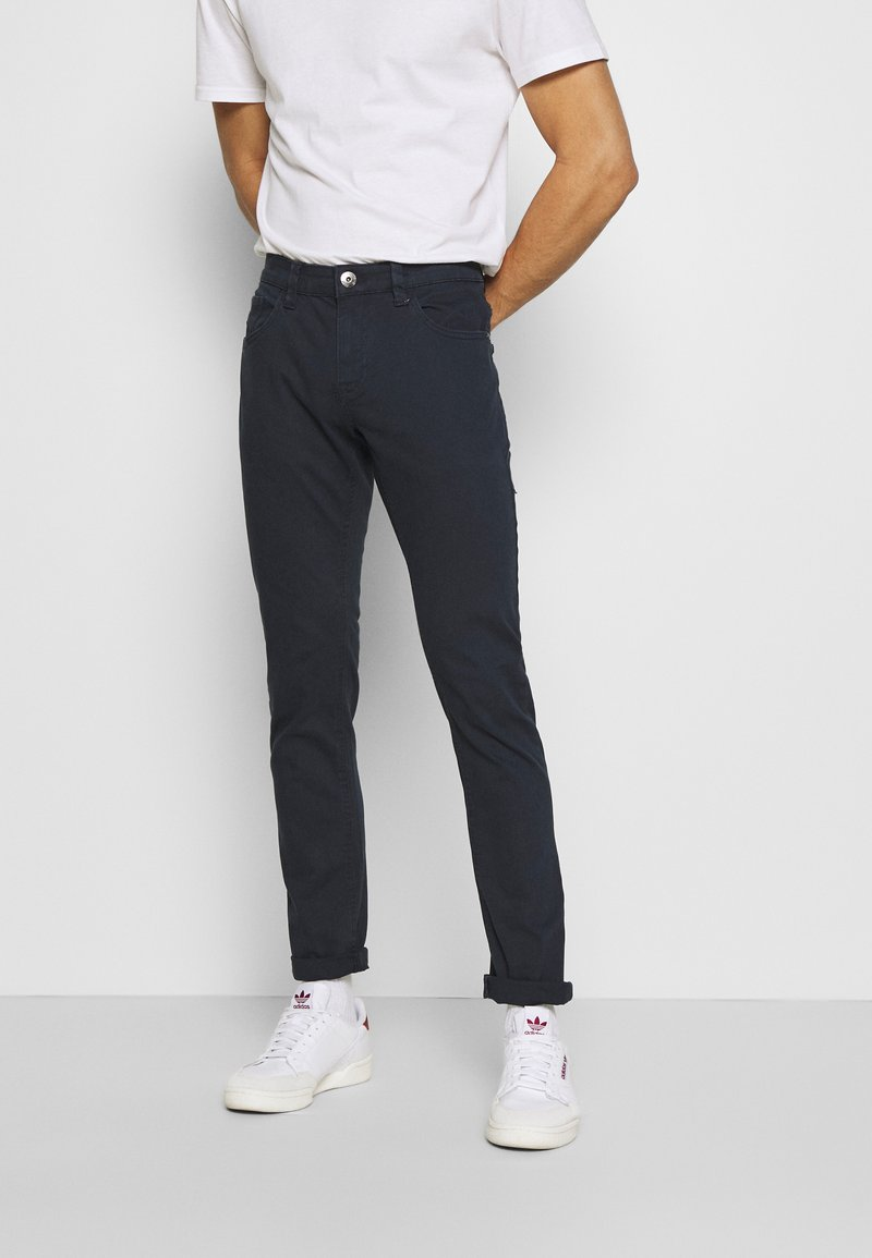 INDICODE JEANS - ALLAN - Trousers - navy