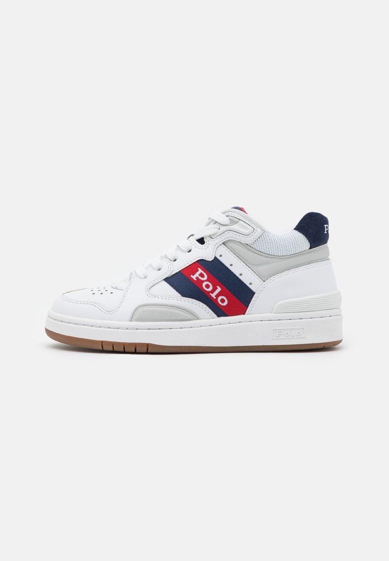 Polo Ralph Lauren - UNISEX - Korkeavartiset tennarit - white/newport navy
