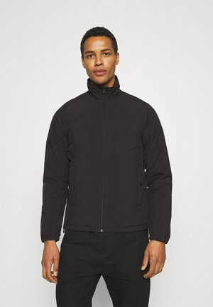 CRINKLE JAN - Bomber bunda - black
