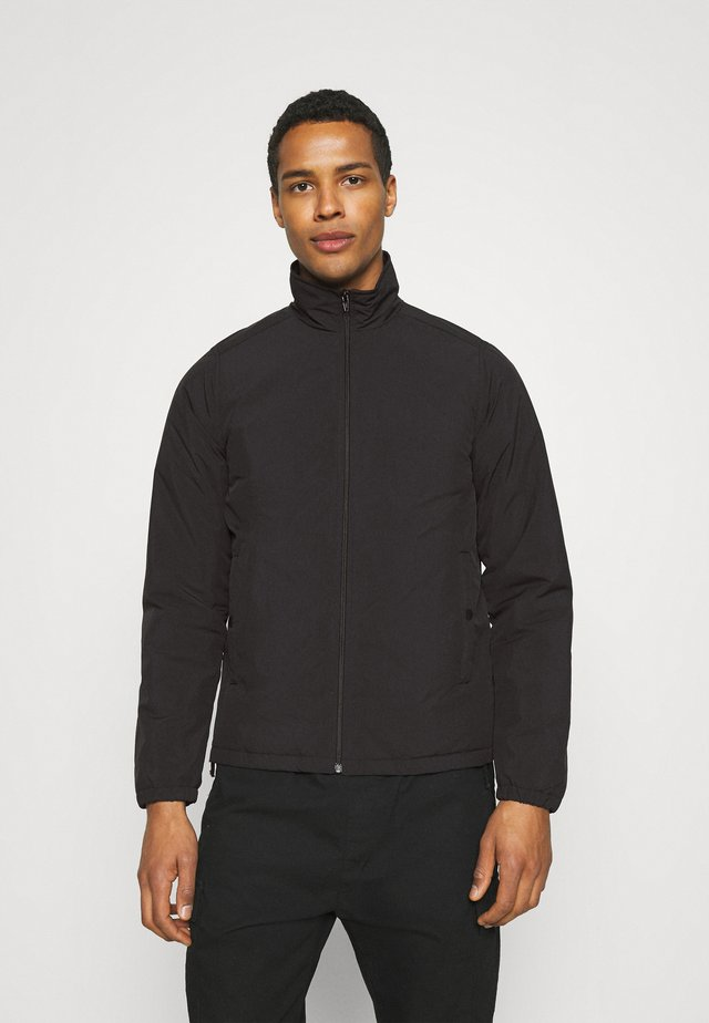 CRINKLE JAN - Bomber Jacket - black