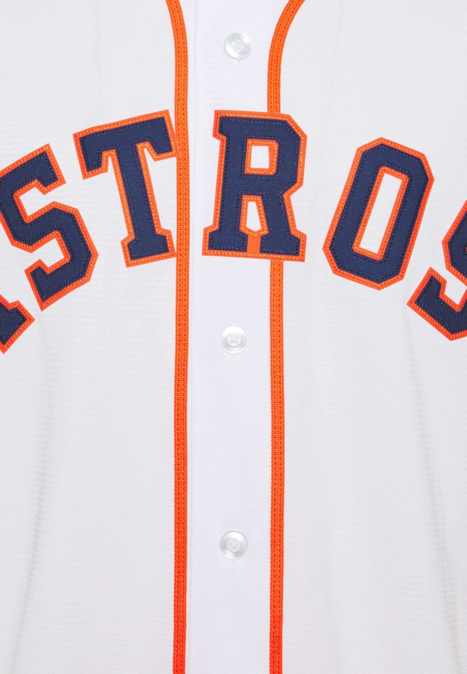 Nike Performance MLB HOUSTON ASTROS OFFICIAL REPLICA ALTERNATE - T-shirt imprimé - white