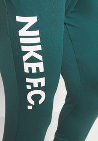 Nike Performance - FC  - Tracksuit bottoms - dark atomic teal/white/healing jade - 4