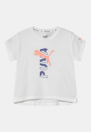 MODERN SPORTS LOGO  - Print T-shirt - puma white