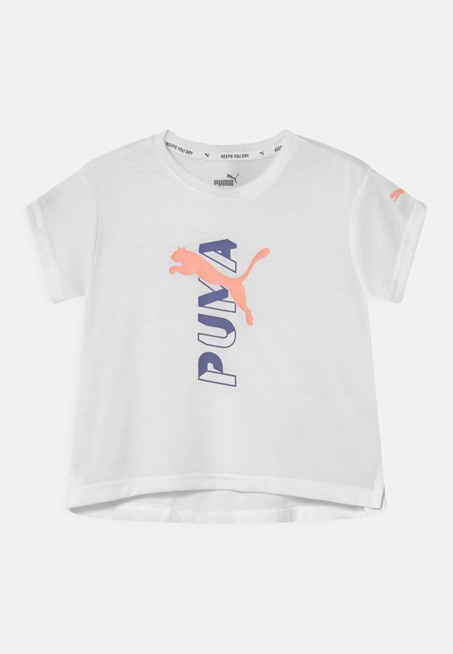 MODERN SPORTS LOGO  - T-Shirt print - puma white