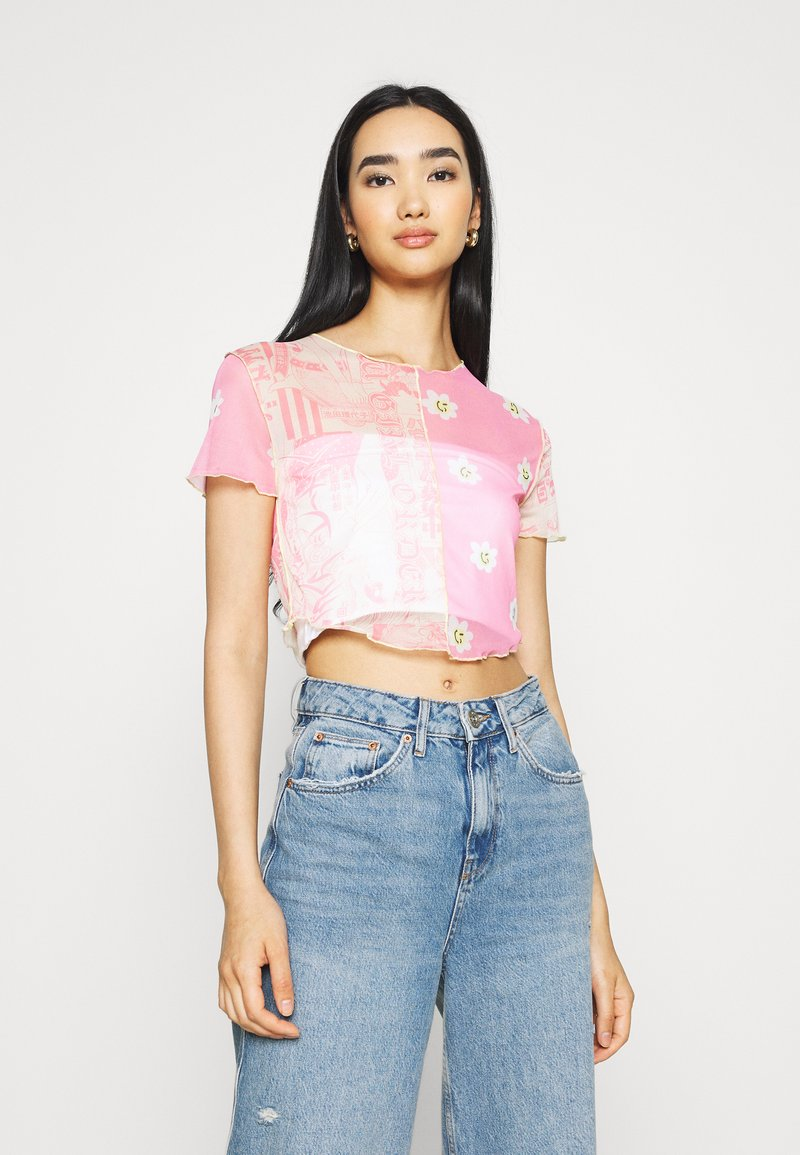 NEW girl ORDER - MIXED EDGED  - T-shirt print - multi