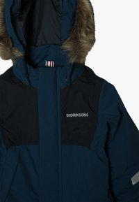 Didriksons - TIRIAN KID'S COVERALL - Zimní kalhoty - hurricance blue - 5