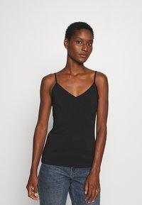 Anna Field - 2 PACK - Top - black/black - 1