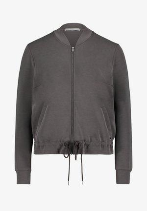 MIT TASCHEN - Bomber Jacket - anthra