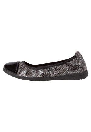 BALLERINA - Ballet pumps - black snake
