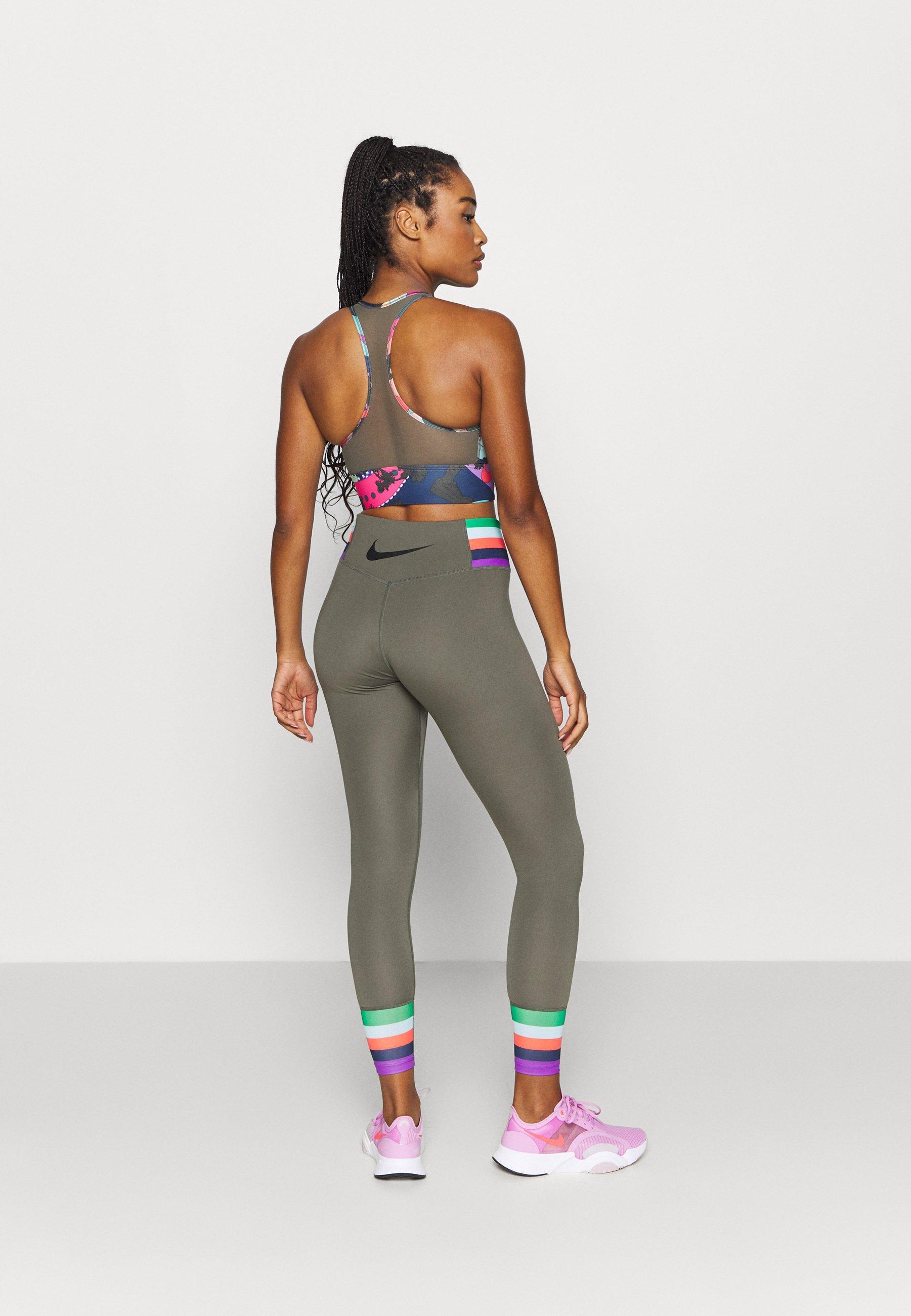 Nike Performance ONE - Leggings - twilight marsh/black SamvP