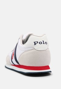 Polo Ralph Lauren - KELLAND UNISEX - Trainers - white/light grey/navy/red - 4
