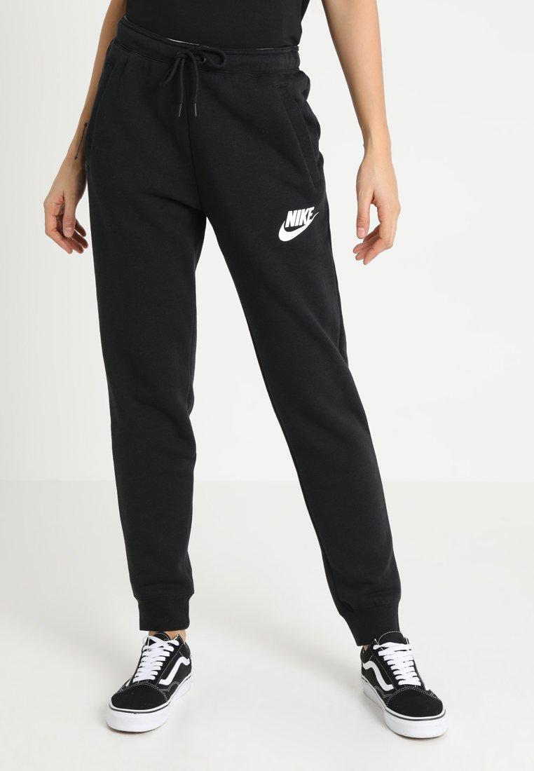 Nike Sportswear - RALLY  - Træningsbukser - black/white