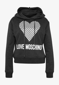 Love Moschino - Mikina skapucí - black - 3