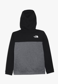 The North Face - SLACKER - Huvtröja med dragkedja - tnf black - 1