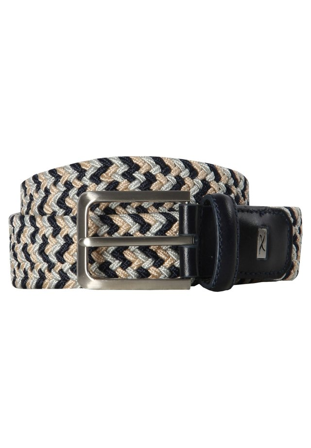 Braided belt - sand