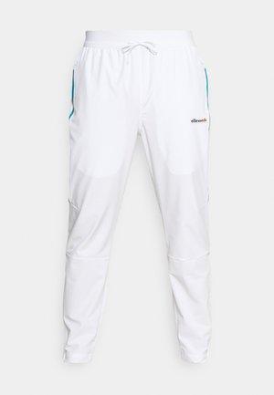 DIRUPO TRACK PANT - Trousers - white