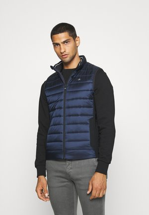 LIGHT WEIGHT SIDE LOGO VEST - Bodywarmer - blue