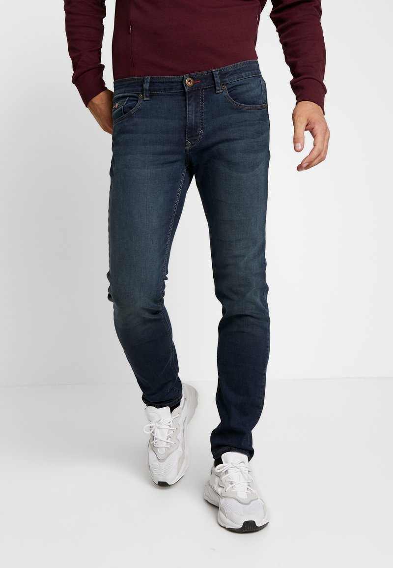 Paddock's - DEANVINTAGE - Slim fit jeans - dark stone blue