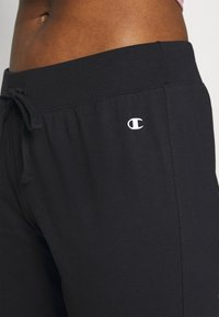 Champion - DRAWSTRING PANTS - Pantalones deportivos - black - 4