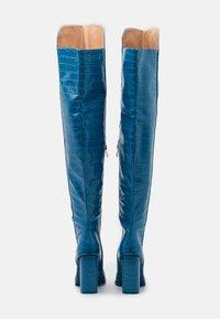 RAID - CYNTHIA - Boots med høye hæler - blue - 3
