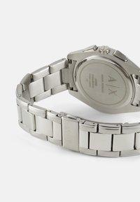 Armani Exchange - Rannekello ajanottotoiminnolla - silver-coloured - 1