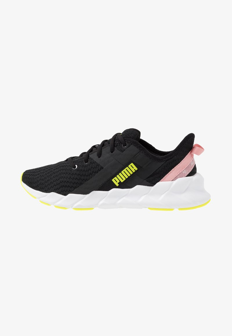 Puma - WEAVE XT SHIFT - Sports shoes - black/white