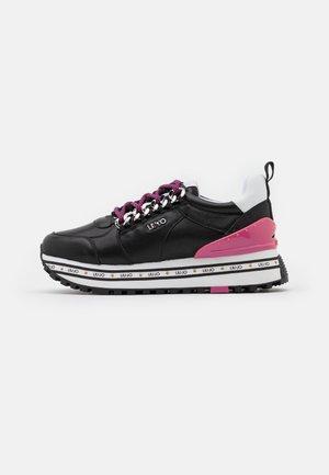 MAXI - Sneakersy niskie - black