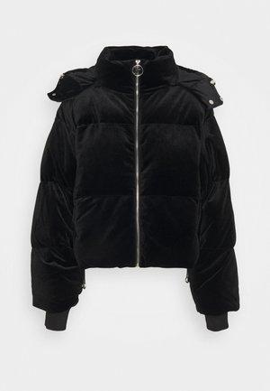 ROSALIA VELOUR JACKET - Winter jacket - black