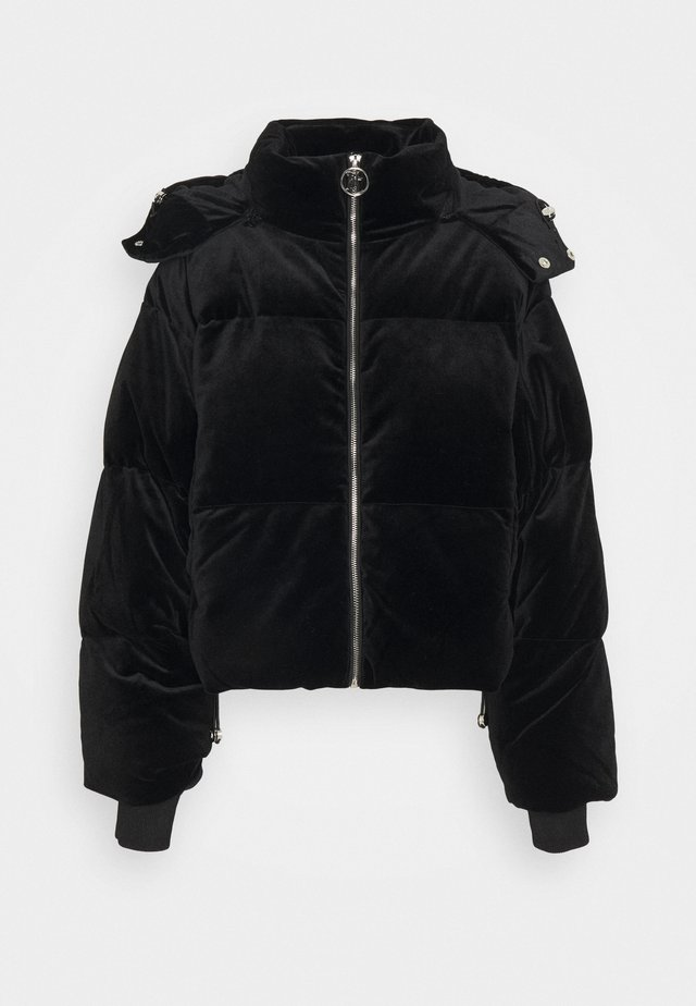 ROSALIA VELOUR JACKET - Winterjas - black