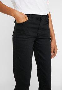 J Brand - ADELE MID RISE  - Straight leg jeans - vesper noir - 3