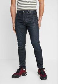 G-Star - D-STAQ 3D SLIM - Slim fit jeans - elto superstretch - dk aged waxed cobler - 0