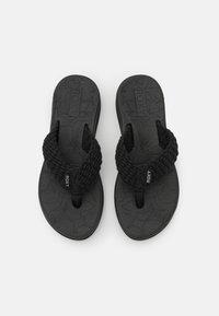 Roxy - CAILLAY - T-bar sandals - black - 5