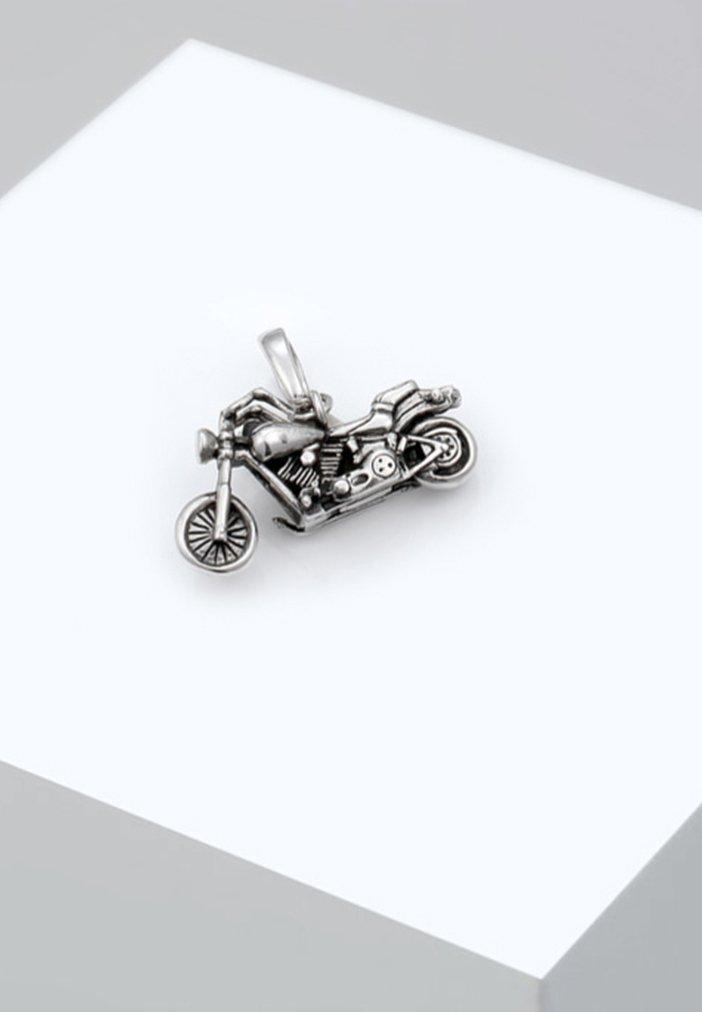 KUZZOI - MOTORRAD - Pendant - silver-coloured