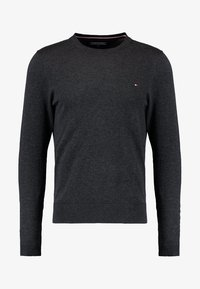 Tommy Hilfiger - C-NECK - Trui - charcoal heather