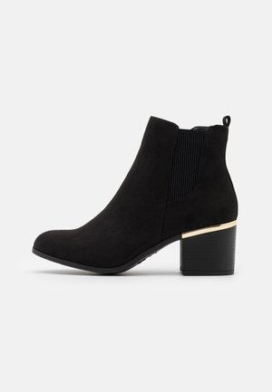 WIDE FIT CLARENCE  - Ankelboots - black