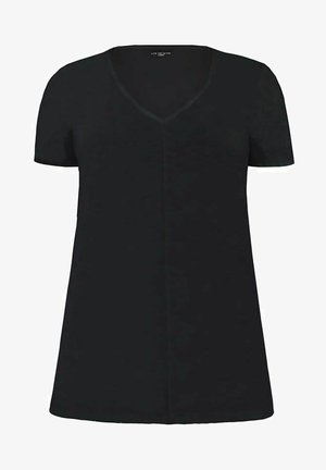 BLACK LONGLINE  - Basic T-shirt - black