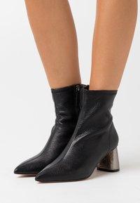 Kurt Geiger London - RIO SOCK - Classic ankle boots - black - 0